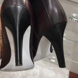 Gianni Bini Shoes - Gianni Bini, Leather Burgundy Boots